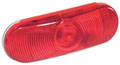60283R3 Red Oval Stop Tail Turn Lamp Light Generic 60283R3 Red Oval Stop Tail Turn Lamp Light Image