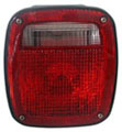 4027 Tail, Stop, Turn Signal, Lamp / Universal, Re Generic 4027 Tail, Stop, Turn Signal, Lamp / Universal, Red Image