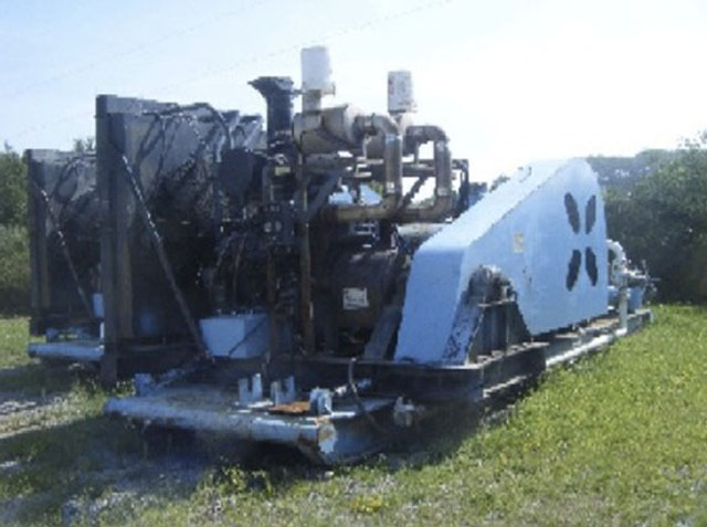 MCM MZ9-FES Mud Pump - Sold | Best Used/Rebuilt Machinery at