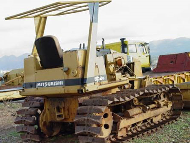 Mitsubishi D2 Bulldozer Best Used Rebuilt Machinery At