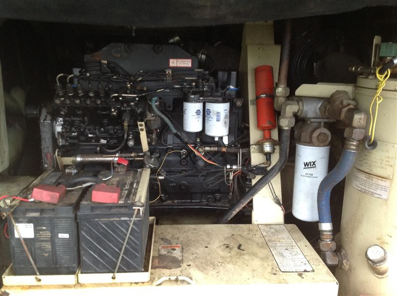 1999 Ingersoll Rand Vhp 400 Cfm 200 Psi Air Compressor