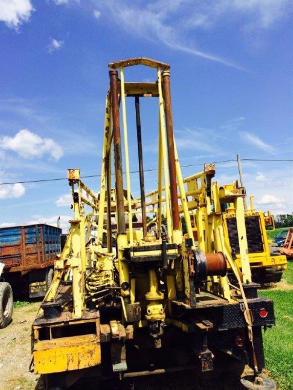 1970 Mobile B52 Drill Rig Sold Best Used Rebuilt