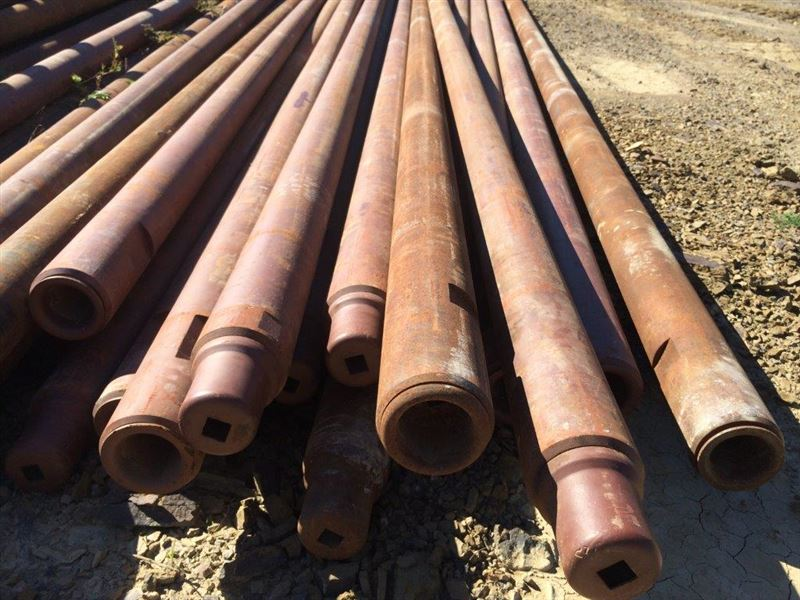 Ft in od if thread drill pipe