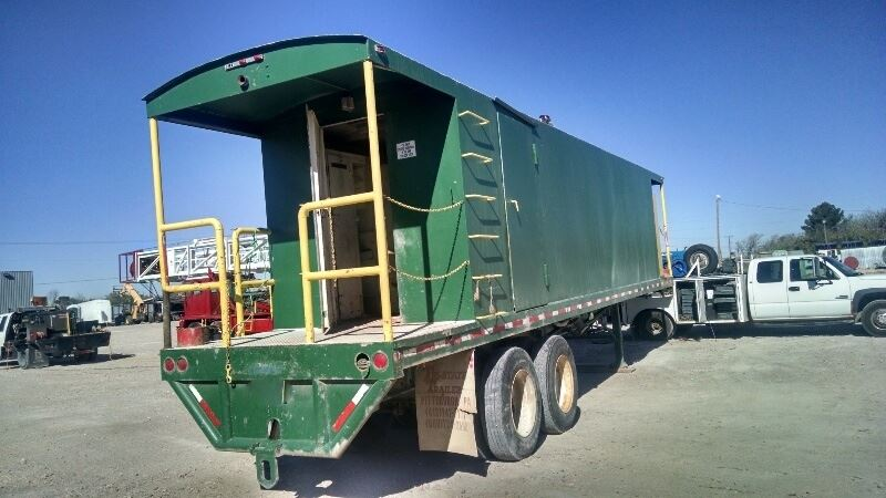 Trailer Dog House fruehauf dog house trailer - sold | best used/rebuilt machinery at