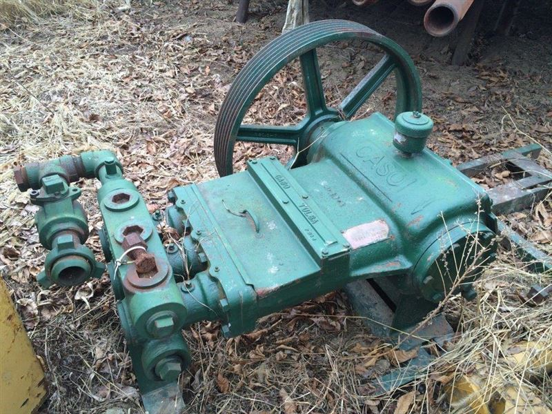 Engine Rebuild Cost >> GASO TRIPLEX MUD PUMP SERIES 3364 - SOLD | Best Used