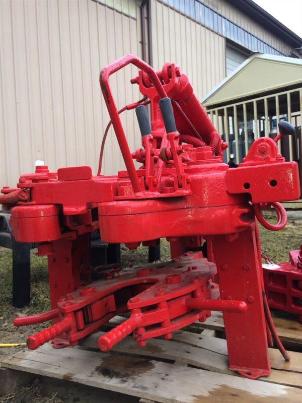 New - BJ RS Hydraulic POWER TONG WITH MANUAL BACKUP - SOLD | Best