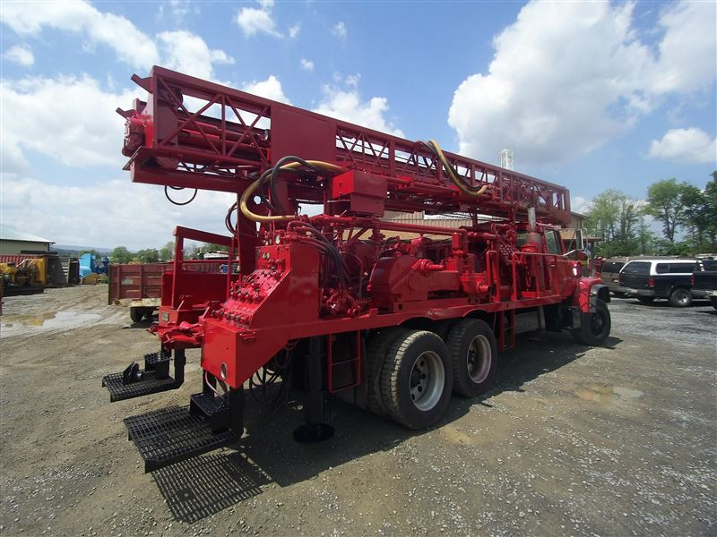 Cyclone ingersoll rand th60 drill rig sold best used rebuilt