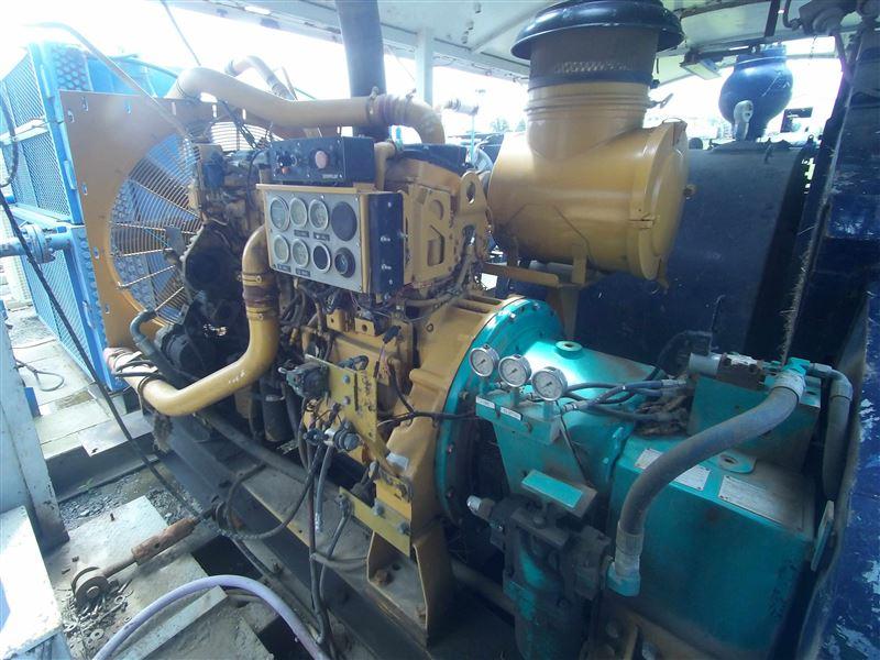 Continental Emsco DC-700 Mud Pump & CAT C18 Diesel Engine