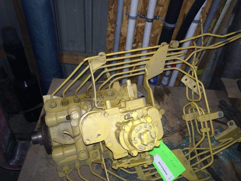 Caterpillar 3412 Fuel Pump With Fuel Lines  Rebuilt Machinery At East West