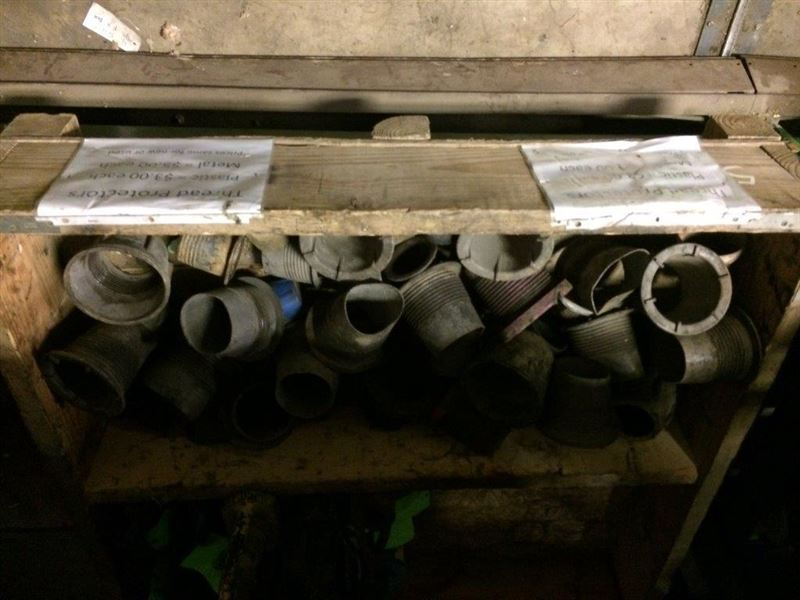 Thread protectors best used rebuilt machinery at east