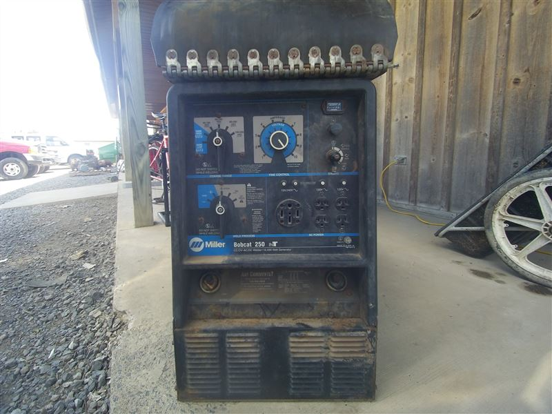 Miller Bobcat 250 Nt Welder Best Used Rebuilt Machinery