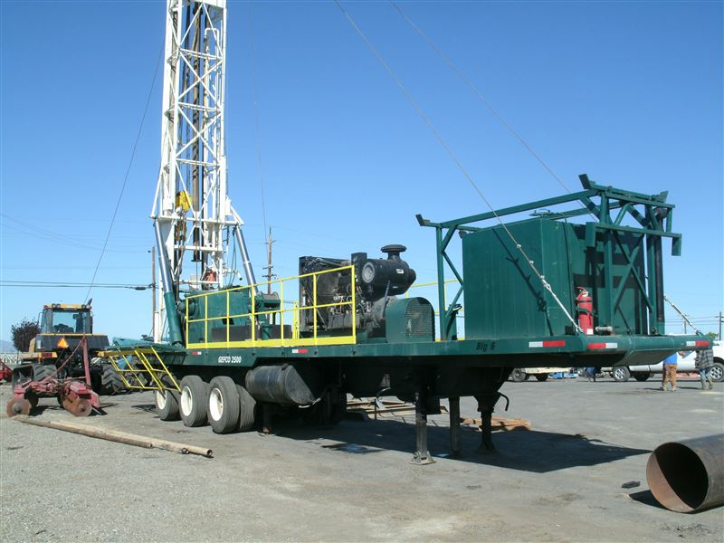 Failing Gefco 2500 Rc Drill Rig Best Used Rebuilt