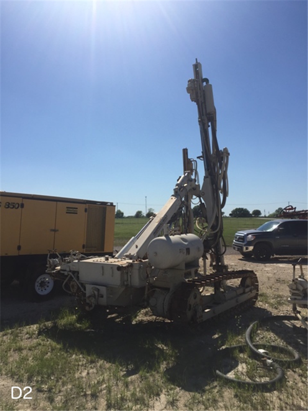 1988 Ingersoll-Rand ECM350 Air Trac Drill & 1999 Atlas Copco