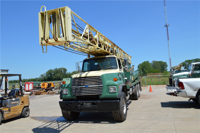 Th60 drill rig best used rebuilt machinery at east west drilling