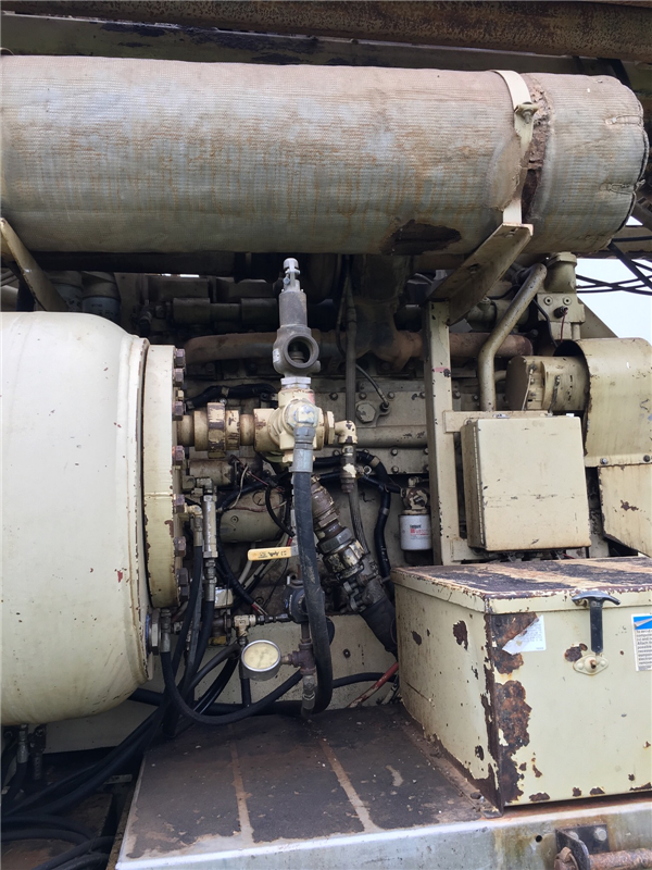 2000 Ingersoll Rand T4w Dh Drill Rig Amp Mud Puppy Package
