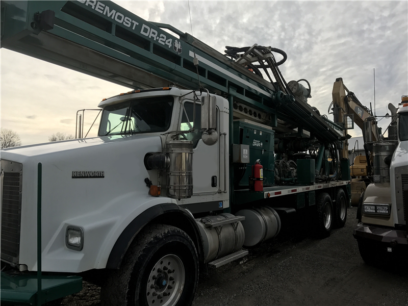 2010 Foremost Dr24 Dual Rotary Drill Rig Sold Best